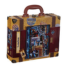 Buy Masterpieces Suitcase Puzzle London Online at johnlewis.com