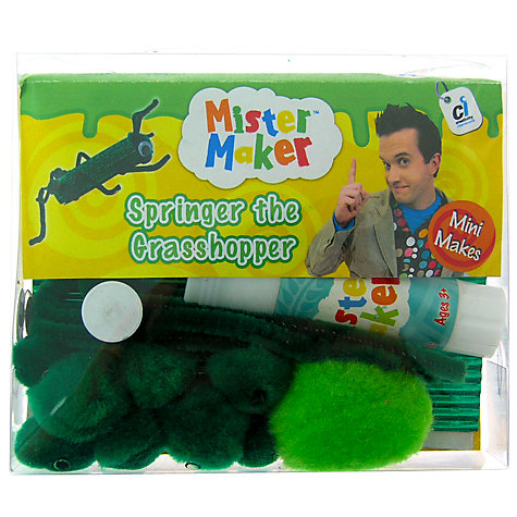 Buy Mister Maker Springer the Grasshopper Online at johnlewis.com