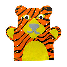 Buy Mister Maker Stripes the Tiger Hand Puppet Kit Online at johnlewis.com