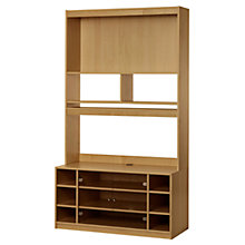 "Buy John Lewis Agatha Media Unit and Doors Combination for up to 47"" TVs, Oak Online at johnlewis.com"