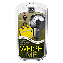 Buy Design Go Weigh Me Travel Scales Online at johnlewis.com