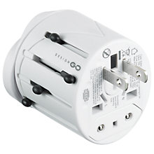 Buy Design Go 401 Worldwide Adaptor Online at johnlewis.com