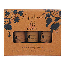 Buy Di Paloma Wild Fig and Grape Bath and Body Treat Set Online at johnlewis.com