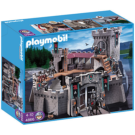 Buy Playmobil Knights: Falcon Knight's Castle Online at johnlewis.com
