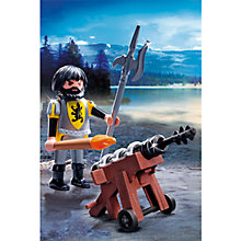 Buy Playmobil Knights: Lion Knight's Cannon Guard Online at johnlewis.com