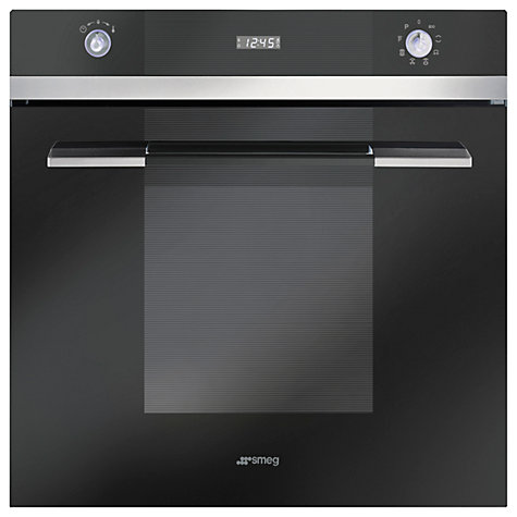 Buy Smeg SFP110N Single Electric Oven, Black Online at johnlewis.com