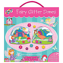 Buy Galt Fairy Glitter Domes Kit Online at johnlewis.com