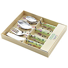 Buy Martin Gulliver Farmyard Cutlery Set Online at johnlewis.com