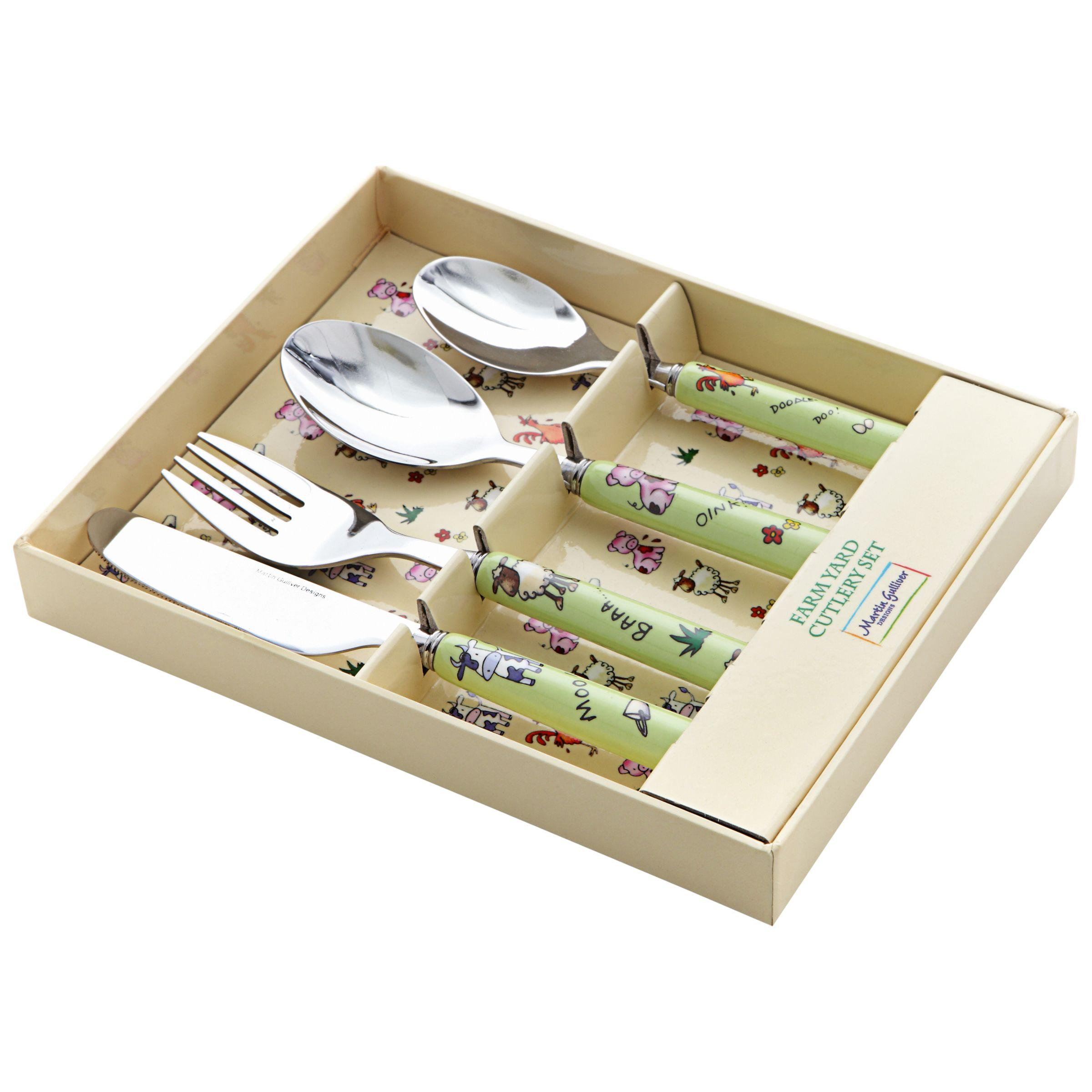 Martin Gulliver Martin Gulliver Farmyard Cutlery Set