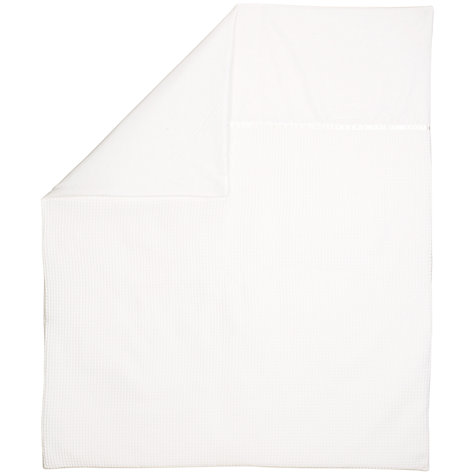 Buy John Lewis Waffle Quilt, White Online at johnlewis.com