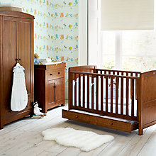 Buy Silver Cross Devonshire Cotbed, Wardrobe and Dresser Set Online at johnlewis.com