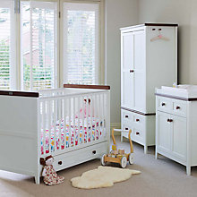 Buy Silver Cross Porterhouse Cotbed, Wardrobe and Dresser Set Online at johnlewis.com