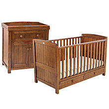 Buy Silver Cross Devonshire Cotbed and Dresser Set Online at johnlewis.com