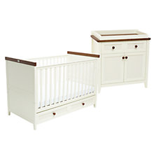 Buy Silver Cross Porterhouse Cotbed and Dresser Set Online at johnlewis.com