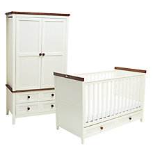 Buy Silver Cross Porterhouse Cotbed and Wardrobe Set Online at johnlewis.com