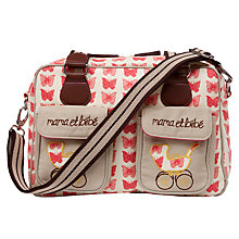 Buy Pink Lining Mama et Bebe Changing Bag, Red Butterflies Online at johnlewis.com