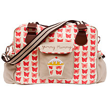 Buy Pink Lining Yummy Mummy Changing Bag, Red Butterflies Online at johnlewis.com
