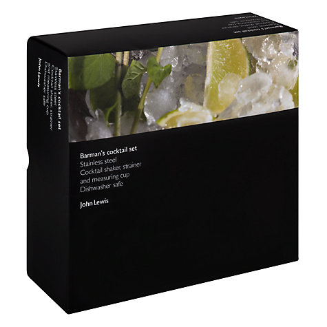 Buy John Lewis 3 Piece Cocktail Gift Set Online at johnlewis.com