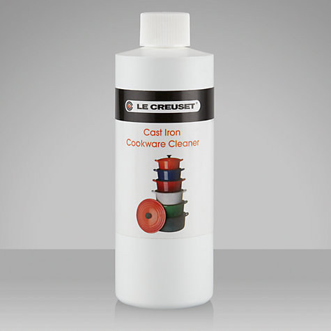 Buy Le Creuset Cast Iron Cookware Cleaner, 250ml Online at johnlewis.com