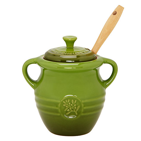 Buy Le Creuset Olive Jar with Wooden Fork Online at johnlewis.com
