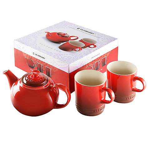 Buy Le Creuset Tea for Two Gift Set Online at johnlewis.com