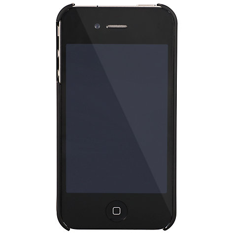 Buy Venom Armour Shell Case for iPhone 4 & 4S, Black Online at johnlewis.com