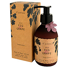 Buy Di Palomo Wild Fig Grape Hand and Body Lotion, 250ml Online at johnlewis.com
