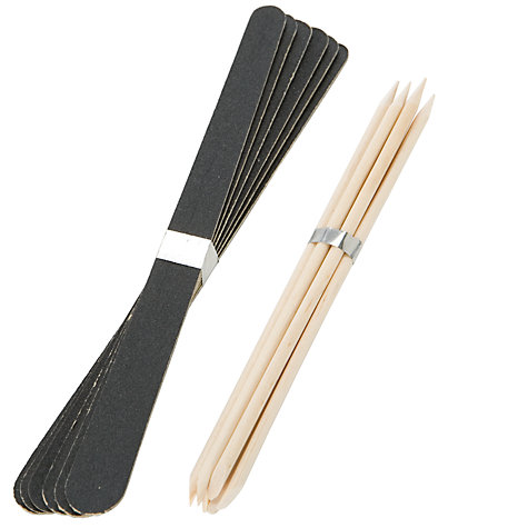 Buy John Lewis Files and Manicure Sticks Kit Online at johnlewis.com