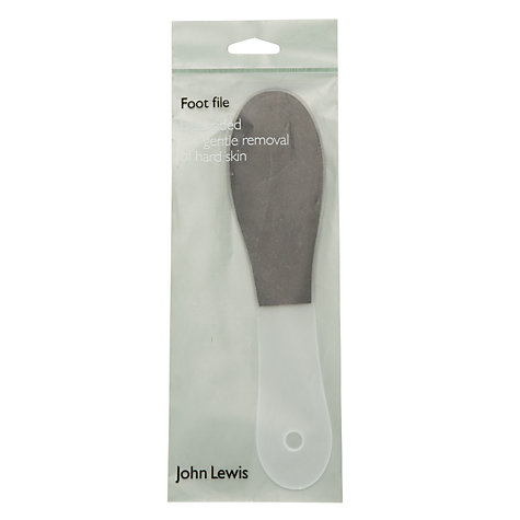 Buy John Lewis Dual Sided Foot File Online at johnlewis.com