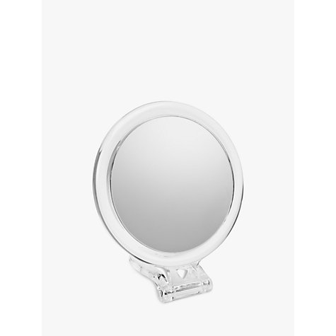 Buy John Lewis 10x Magnification Acrylic Hand Mirror Online at johnlewis.com