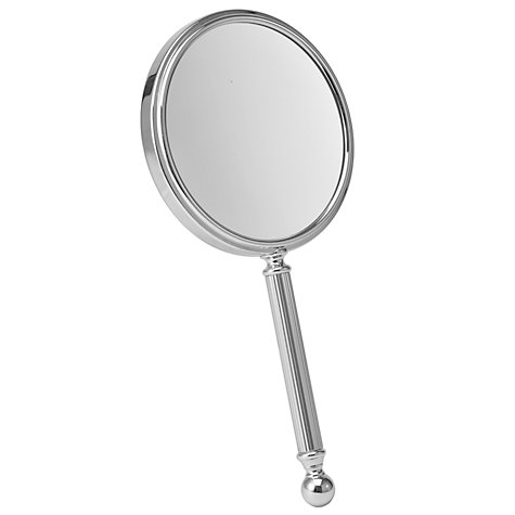 Buy John Lewis 3x Magnification Handheld Mirror, Chrome Online at johnlewis.com
