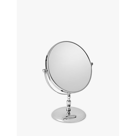 Buy John Lewis Round Stem Chrome Mirror Online at johnlewis.com