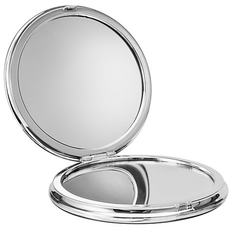 Buy John Lewis Silver Effect Travel Mirror Online at johnlewis.com