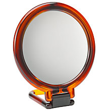 Buy John Lewis 3x Magnification Stand Mirror, Tortoiseshell Online at johnlewis.com