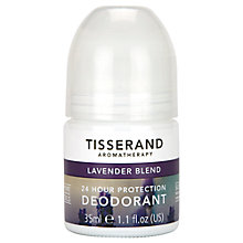 Buy Tisserand Lavender Deodorant, 35ml Online at johnlewis.com