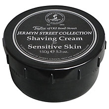 Buy Taylor of Old Bond Street Shaving Cream Sensitive Skin, 150g Online at johnlewis.com