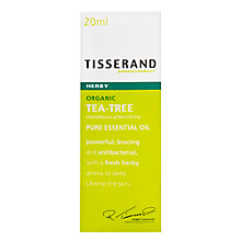 Buy Tisserand Tea Tree Organic Oil, 9ml Online at johnlewis.com
