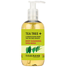 Buy Tisserand Organic Tea Tree and Grapefruit All-Over Skin Wash, 250ml Online at johnlewis.com