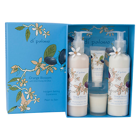 Buy Di Palomo Orange Blossom Honey & Olive Pamper Pack Online at johnlewis.com