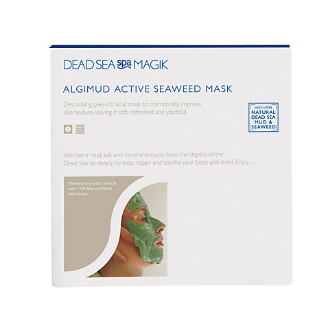 Buy Dead Sea Algimud Active Seaweed Face Mask, 25g Online at johnlewis.com