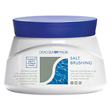 Buy Dead Sea Spa Magik Salt Brushing Exfoliating Scrub, 500ml Online at johnlewis.com
