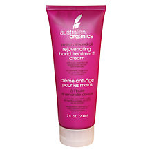 Buy Australian Organics™ Sweet Almond Oil Rejuvenating Hand Cream Online at johnlewis.com