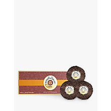 Buy Roger & Gallet Bois D'Orange Soap, 3 x 100g Online at johnlewis.com