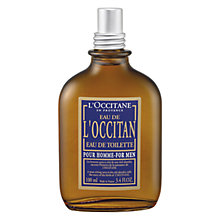 Buy L'Occitane for Men Eau De Toilette, 100ml Online at johnlewis.com