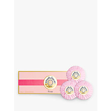 Buy Roger & Gallet Rose Soap Coffret, 3 x 100g Online at johnlewis.com