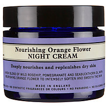 Buy Neal's Yard Nourishing Orange Flower Night Cream, 50g Online at johnlewis.com