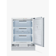 Buy Neff G4344X7GB Integrated Freezer, A+ Energy Rating, 60cm Wide, Online at johnlewis.com