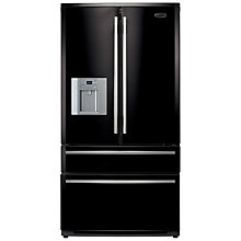 Buy Rangemaster RDXD910GB/C 4-Door Fridge Freezer, Gloss Black Online at johnlewis.com