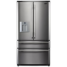 Buy Rangemaster RDXD910SS/C 4-Door Fridge Freezer, Stainless Steel Online at johnlewis.com