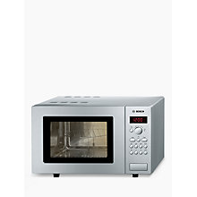 Buy Bosch HMT75G451B Microwave and Grill, Silver Online at johnlewis.com